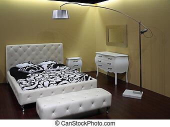 Modern bedroom - Modern white bedroom