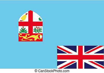 180 Degree Rotated Flag of Fiji - A 180 Degree Rotated Flag...
