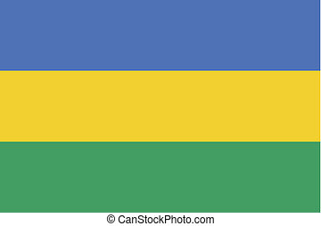 180 Degree Rotated Flag of Gabon - A 180 Degree Rotated Flag...