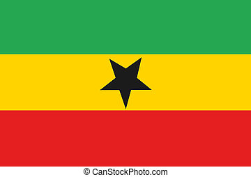 180 Degree Rotated Flag of Ghana - A 180 Degree Rotated Flag...