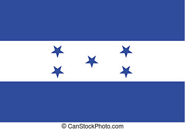 180 Degree Rotated Flag of Honduras - A 180 Degree Rotated...