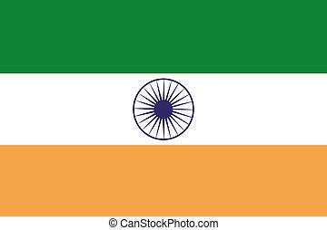 180 Degree Rotated Flag of India - A 180 Degree Rotated Flag...