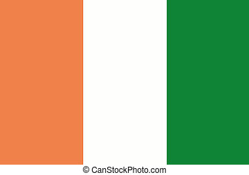 180 Degree Rotated Flag of Ireland - A 180 Degree Rotated...