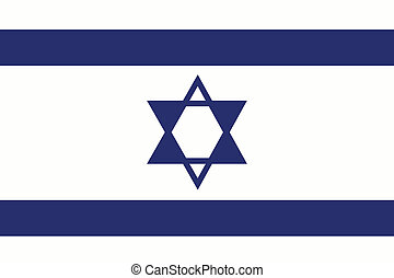 180 Degree Rotated Flag of Israel - A 180 Degree Rotated...