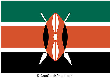 180 Degree Rotated Flag of Kenya - A 180 Degree Rotated Flag...