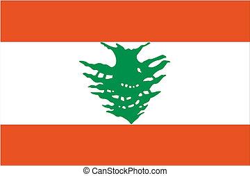 180 Degree Rotated Flag of Lebanon - A 180 Degree Rotated...