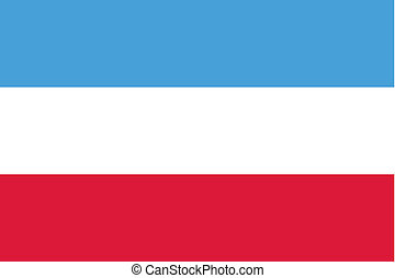 180 Degree Rotated Flag of Luxembourg - A 180 Degree Rotated...
