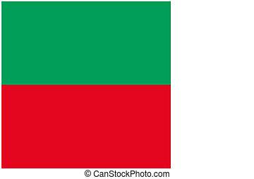 180 Degree Rotated Flag of Madagascar - A 180 Degree Rotated...
