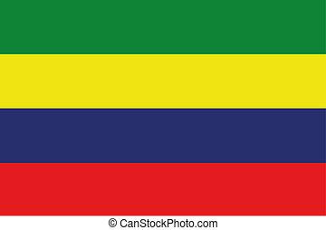 180 Degree Rotated Flag of Mauritius - A 180 Degree Rotated...