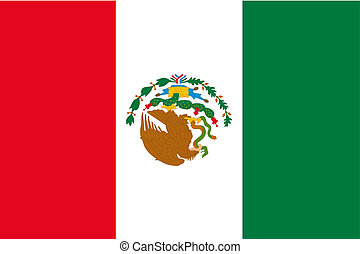 180 Degree Rotated Flag of Mexico - A 180 Degree Rotated...