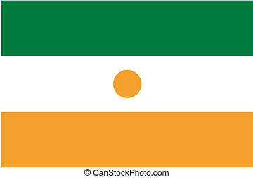 180 Degree Rotated Flag of Niger - A 180 Degree Rotated Flag...