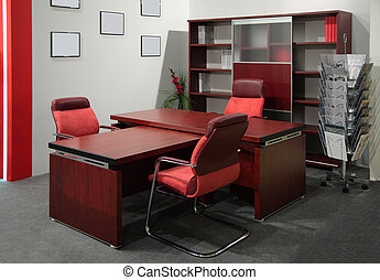 Office of boss - red Office of boss