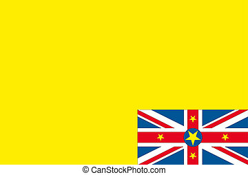 180 Degree Rotated Flag of Niue - A 180 Degree Rotated Flag...