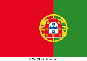180 Degree Rotated Flag of Portugal - A 180 Degree Rotated...