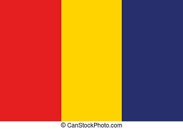 180 Degree Rotated Flag of Romania - A 180 Degree Rotated...