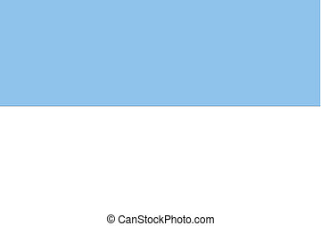 180 Degree Rotated Flag of San Marino - A 180 Degree Rotated...