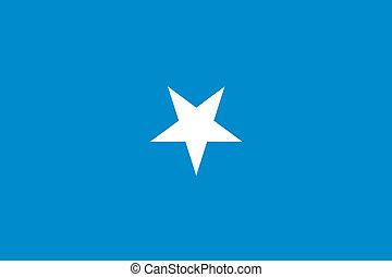 180 Degree Rotated Flag of Somalia - A 180 Degree Rotated...