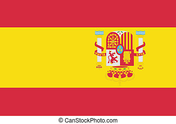 180 Degree Rotated Flag of Spain - A 180 Degree Rotated Flag...