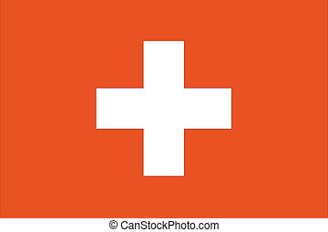 180 Degree Rotated Flag of Switzerland - A 180 Degree...