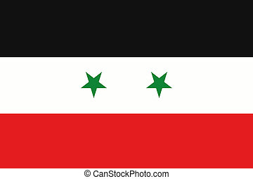 180 Degree Rotated Flag of Syria - A 180 Degree Rotated Flag...