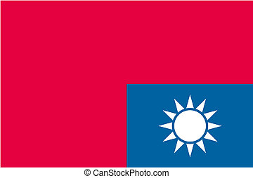 180 Degree Rotated Flag of Taiwan - A 180 Degree Rotated...