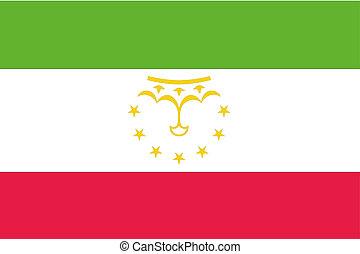 180 Degree Rotated Flag of Tajikistan - A 180 Degree Rotated...