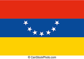 180 Degree Rotated Flag of Venezuela - A 180 Degree Rotated...