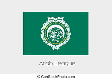 180 Degree Rotated Flag of ArabLeague - A 180 Degree Rotated...