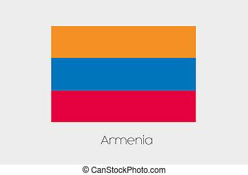 180 Degree Rotated Flag of Armenia - A 180 Degree Rotated...