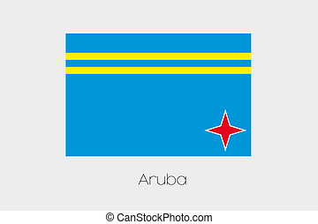 180 Degree Rotated Flag of Aruba - A 180 Degree Rotated Flag...