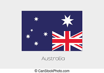 180 Degree Rotated Flag of Australia - A 180 Degree Rotated...