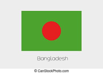 180 Degree Rotated Flag of Bangladesh - A 180 Degree Rotated...