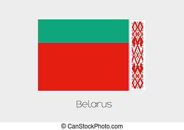 180 Degree Rotated Flag of Belarus - A 180 Degree Rotated...