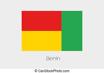 180 Degree Rotated Flag of Benin - A 180 Degree Rotated Flag...