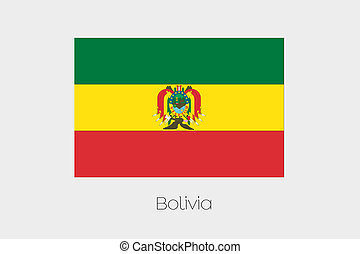 180 Degree Rotated Flag of Bolivia - A 180 Degree Rotated...