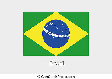 180 Degree Rotated Flag of Brazil - A 180 Degree Rotated...