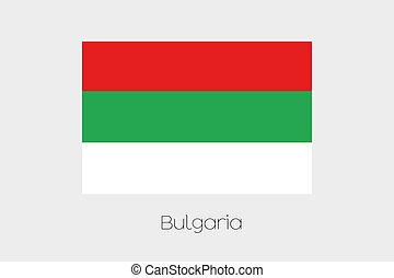 180 Degree Rotated Flag of Bulgaria - A 180 Degree Rotated...