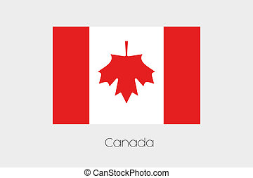 180 Degree Rotated Flag of Canada - A 180 Degree Rotated...
