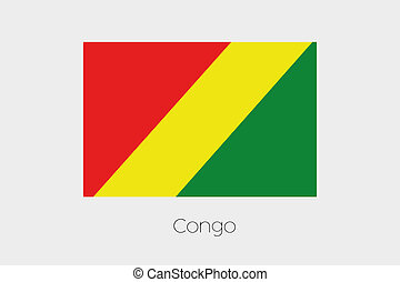 180 Degree Rotated Flag of Congo - A 180 Degree Rotated Flag...