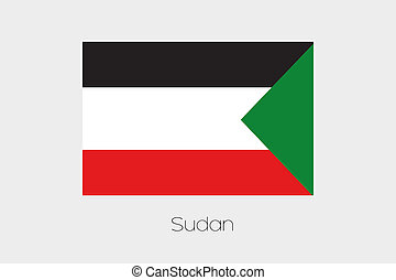 180 Degree Rotated Flag of Sudan - A 180 Degree Rotated Flag...