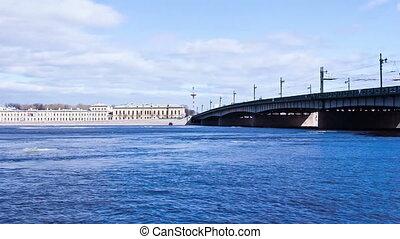 Bridge St Petersburg Russia - Liteyny Bridge St Petersburg...