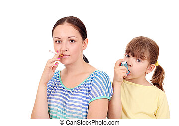 cigarette smoking in adults can cause disease in children