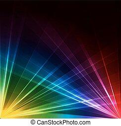 Spotlight background. Vector illustration.