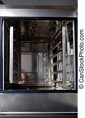 Professional kitchen, oven detail - Combi oven detail,...