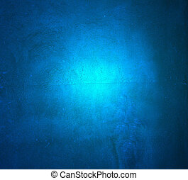 Wall decor texture - Blue plaster pattern background with...