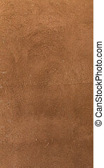 Wall decor texture - Brown plaster pattern background with...