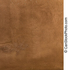 Wall decor texture - Brown painted plaster pattern...