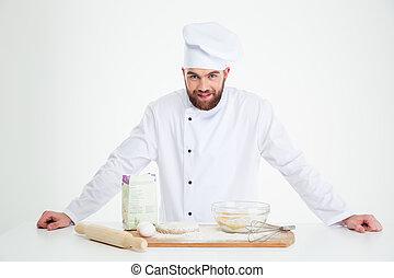 Portrait of a male baker