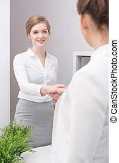 Performance appraisal interview - Young employee and annual...