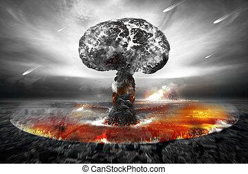 Nuclear War / Atomic Bomb - Nuclear war / atomic bombs...